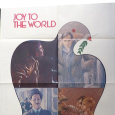 Cine: JOY TO THE WORLD MOVIE POSTER,HOLIDAY REFLECTIONS, ONE SHEET. Lote 108718863