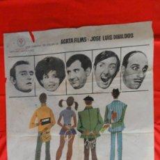 Cine: LOS QUE TOCAN EL PIANO, POSTER 1968,TONY LEBLANC CONCHA VELASCO, 70X100 CMS.. Lote 108731671