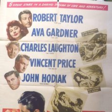 Cine: THE BRIDE MOVIE POSTER,ONE SHEET,1948. Lote 108791455