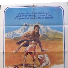 Cine: FOREVER YOUNG,FOREVER FREE,1976,ONE SHEET,UNIRVERSAL STUDIOS TOUR.. Lote 108828499