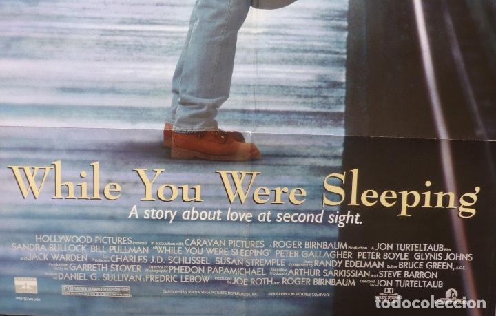 While You Were Sleeping Movie Poster One Sheet Buy Comedy Film Posters At Todocoleccion 108836111