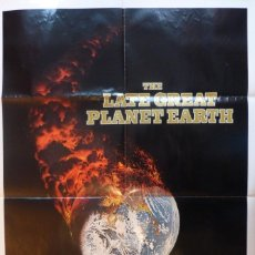 Cine: THE LATE GREAT PLANET EARTH ORIGINAL POSTER, 1976,ORSON WELLES.. Lote 108843679