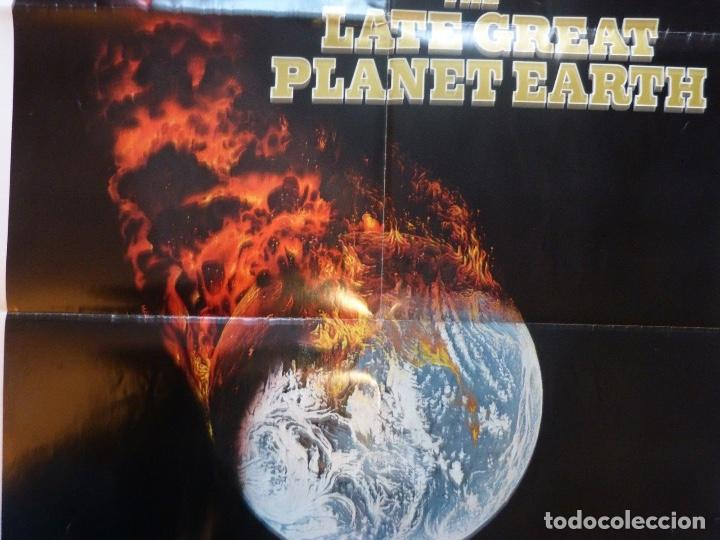 Cine: The late great planet earth original poster, 1976,Orson Welles. - Foto 5 - 108843679