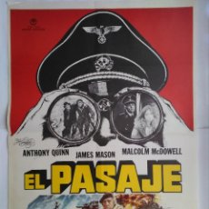 Cinéma: CARTEL CINE, EL PASAJE. ANTHONY QUINN, JAMES MASON, MALCOLM MCDOWELL. AÑO 1979 C169. Lote 108871751