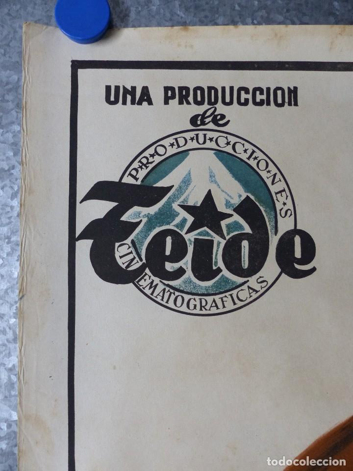Cine: PUEBLA DE LAS MUJERES, MARUJITA DIAZ, RUBEN ROJO - ilustrador: PERIS ARAGÓ - LITOGRAFIA - Foto 5 - 108892331