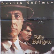 Cine: BILLY BATHGATE GERMAN MOVIE POSTER,NICOLE KIDMAN,DUSTIN HOFFMAN. Lote 108916859