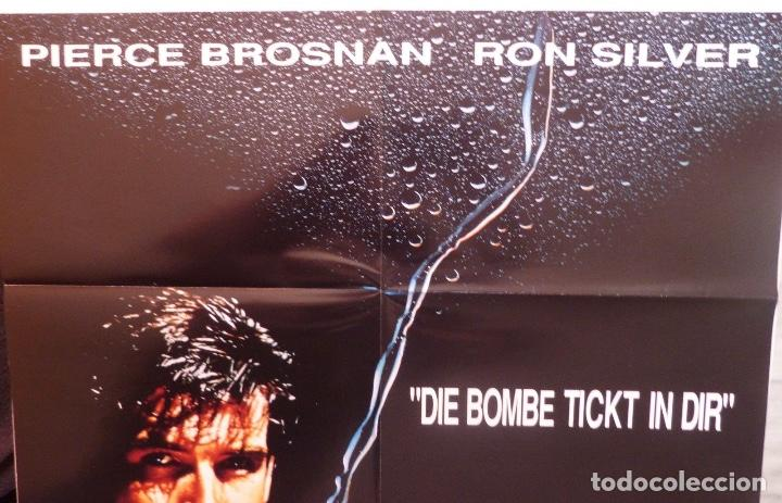 Cine: Hidrotoxin folded movie poster,German ,A1,Pierce Brosnan/Ron Silver - Foto 2 - 108921027