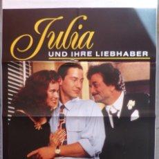 Cine: JULIA UND IHRE LIEBHABER,GERMAN MOVIE POSTER, A1,BARBARA HERSHEY.. Lote 108926987