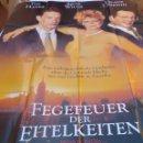 Cine: FEGEVER DER EITELKEITEN MOVIE POSTER/GERMANY, STYLE A0,TOM HANKS,BRUCE WILLIS. Lote 108930803