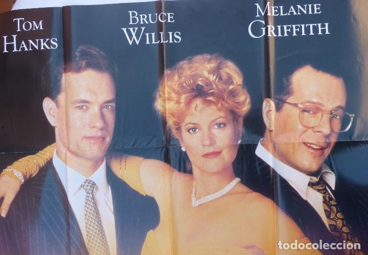Cine: Fegever der eitelkeiten movie poster/Germany, style A0,Tom Hanks,Bruce Willis - Foto 2 - 108930803