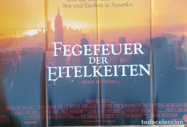 Cine: Fegever der eitelkeiten movie poster/Germany, style A0,Tom Hanks,Bruce Willis - Foto 3 - 108930803