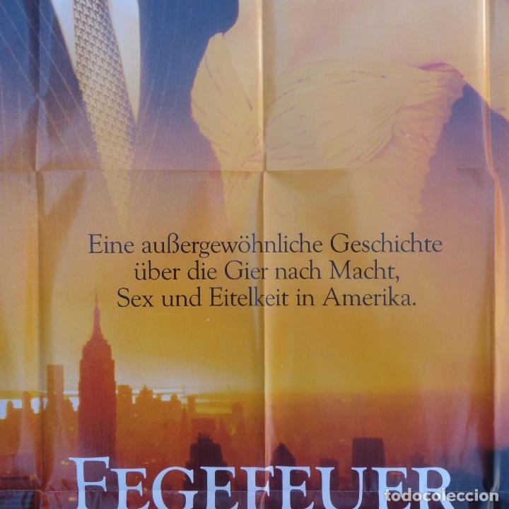 Cine: Fegever der eitelkeiten movie poster/Germany, style A0,Tom Hanks,Bruce Willis - Foto 4 - 108930803