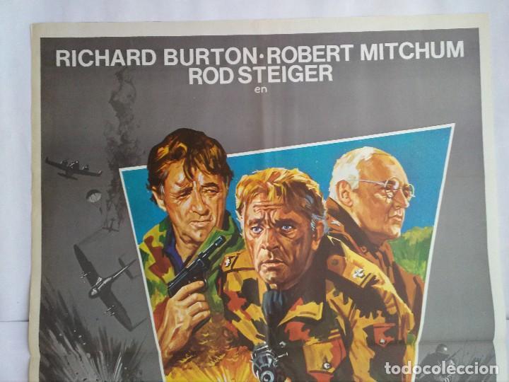 Cine: CARTEL CINE, CERCO ROTO. AÑO 1979, RICHARD BURTON, ROBERT MITCHUM, ROD STEIGER, C179 - Foto 2 - 108970315