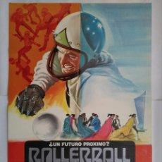 Cine: CARTEL CINE, ROLLERBALL, AÑO 1980, JAMES CAAN - C180. Lote 108971543