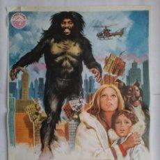 Cine: CARTEL CINE, YETI. EL ABOMINABLE HOMBRE DE LAS NIEVES. PHOENIX GRANT, JIM SULLIVAN. AÑO 1978, C190. Lote 108978807