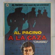 Cine: CARTEL CINE, A LA CAZA, AL PACINO, KAREN ALLEN , JANO, C192. Lote 108988071