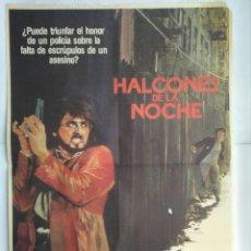 Cine: CARTEL CINE, HALCONES DE LA NOCHE, SYLVESTER STALLONE, 1981, C193. Lote 108988327