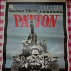 Cine: CARTEL CINE ORIGINAL PATTON. Lote 109035160