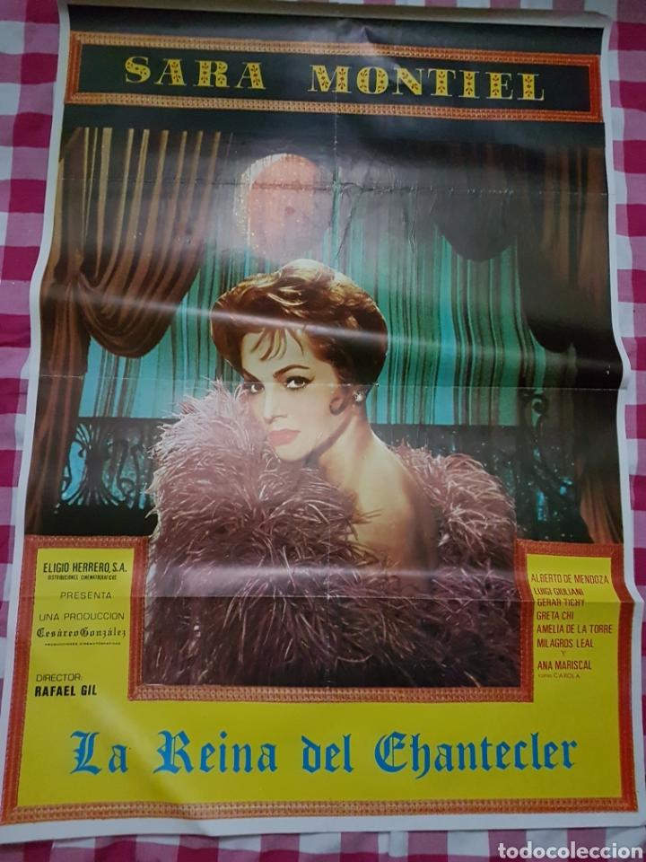 CARTEL CINE ORIGINAL LA REINA DEL CHANTECLER SARA MONTIEL (Cine - Posters y Carteles - Clasico Español)