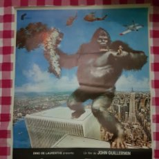 Cine - Cartel cine original King kong 1976 - 109037850