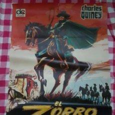 Cine: CARTEL CINE ORIGINAL EL ZORRO 1971. Lote 109040054