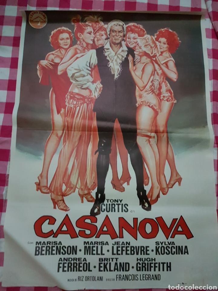 CARTEL CINE ORIGINAL CASANOVA (Cine - Posters y Carteles - Clasico Español)