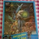 Cine: CARTEL CINE ORIGINAL ENCUENTROS EN LAS GALAXIAS 1980 M. Lote 109044468