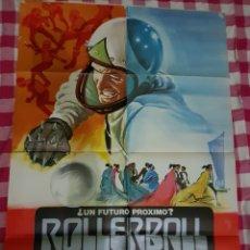 Cine: CARTEL CINE ORIGINAL ROLLERBALL 1980 M. Lote 109044730