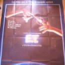 Cine: E.T. THE EXTRA-TERRESTRIAL MOVIE POSTER, FOLDED,R1985,FRENCH. Lote 109048511