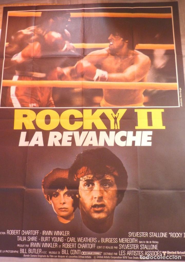 ROCKY II MOVIE POSTER, FOLDED,SYLVESTER STALLONE,1979 (Cine - Posters y Carteles - Infantil)