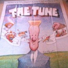 Cine: THE TUNE (LA CHANSON) MOVIE POSTER,FRENCH,FOLDED,2002. Lote 109051271