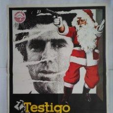 Cine: CARTEL CINE, CARTEL CINE, TESTIGO SILENCIOSO, ELLIOT GOULD, CHRISTOPHER PLUMMER, 1978, C208. Lote 109051515