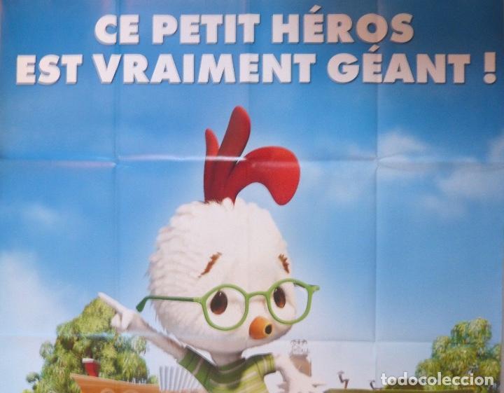 CHICKEN LITTLE MOVIE POSTER, FRENCH, 2005/FOLDED/TEASER (Cine - Posters y Carteles - Infantil)