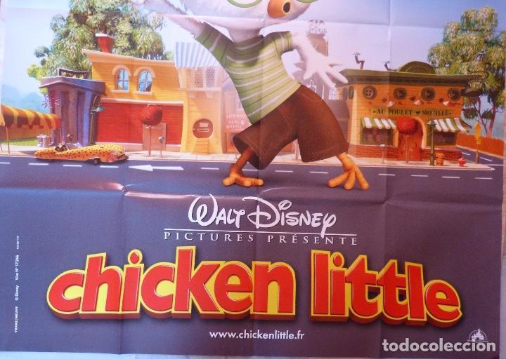 Cine: Chicken little movie poster, French, 2005/Folded/Teaser - Foto 3 - 109052579