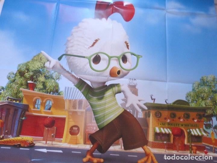 Cine: Chicken little movie poster, French, 2005/Folded/Teaser - Foto 4 - 109052579