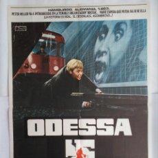 Cine: CARTEL CINE, ODESSA. JON VOIGHT, MARY TAMM, MAXIMILIAN SCHELL.,1975, C219. Lote 109075263