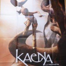 Cine: KAENYA: LA PROPHETIE MOVIE POSTER, FOLDED,1P,FRENCH. Lote 109090311