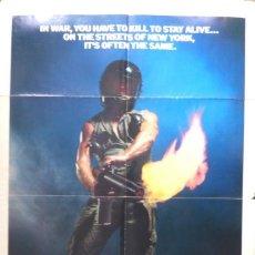 Cine: THE EXTERMINATOR ORIGINAL POSTER,1980. Lote 109096767
