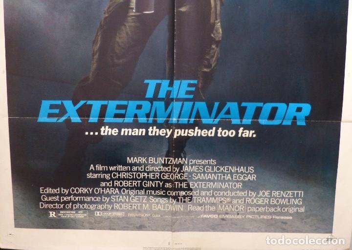 Cine: The exterminator original poster,1980 - Foto 2 - 109096767