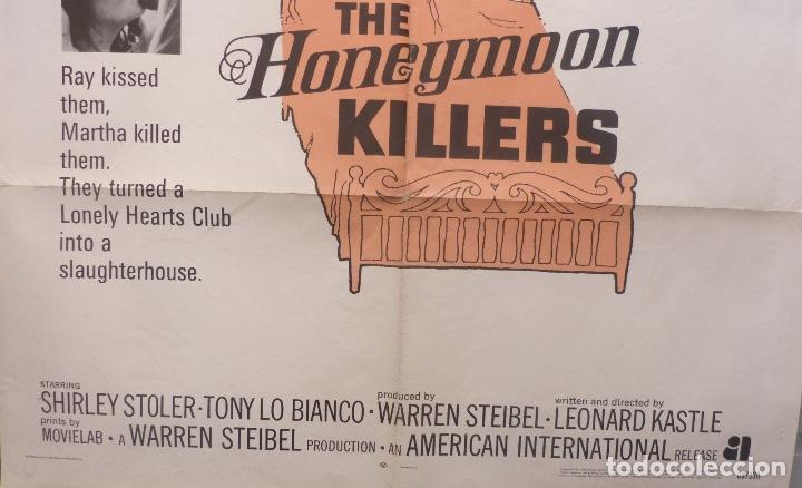 Cine: The Honeymoon Killers poster,1969,original,RARO, 27 X 41 INCHES - Foto 2 - 109098835