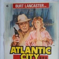 Cine: CARTEL CINE. ATLANTIC CITY, BURT LANCASTER, SUSAN SARANDON , JANO, C231. Lote 109102159