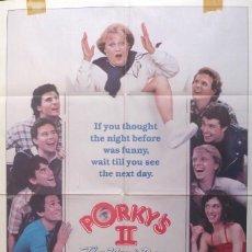 Cine: PORKY´S 2 POSTER ORIGINAL,1983,TWENTIETH CENTURY-FOX.. Lote 109104723