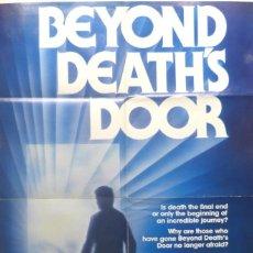 Cine: BEYOND DEATH´S DOOR POSTER,1979,ORIGINAL,TECHNICOLOR. Lote 109111715