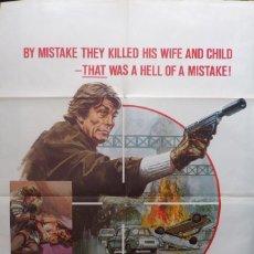 Cine: NO WAY OUT ORIGINAL POSTER,1973,RICHARD CONTE.. Lote 109114471