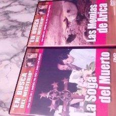 Cine: EN BUSCA DEL MISTERIO, LOTE 2 DVD.. Lote 108703463