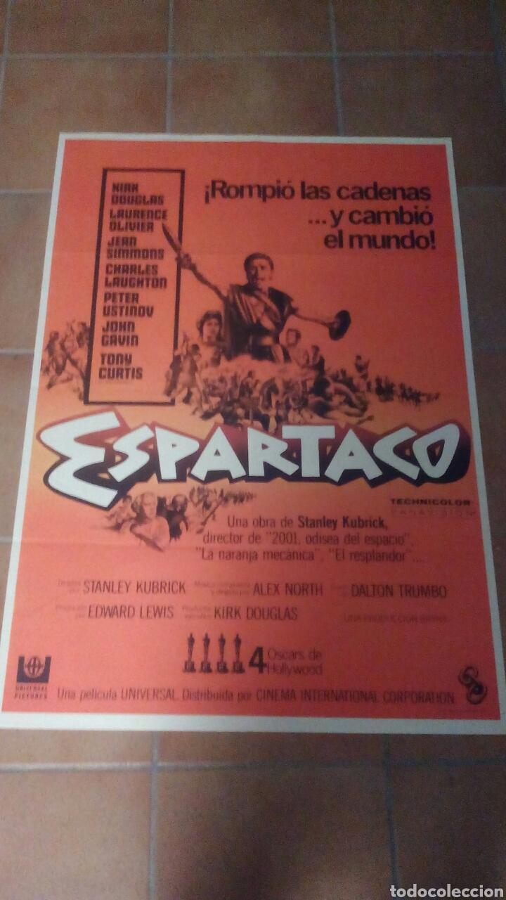 ESPARTACO KUBRICK KIRK DOUGLAS POSTER ORIGINAL 70X100 (Cine - Posters y Carteles - Aventura)
