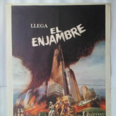Cine: CARTEL CINE, EL ENJAMBRE. MICHAEL CAINE, KATHARINE ROSS, RICHARD WIDMARK. AÑO 1978 , C247. Lote 109241975