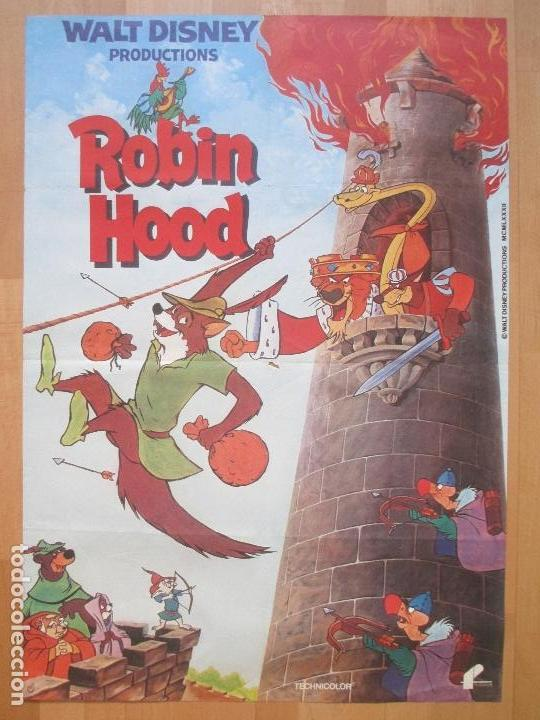 Cartel Cine Robin Hood Walt Disney C1244 Buy Children Film