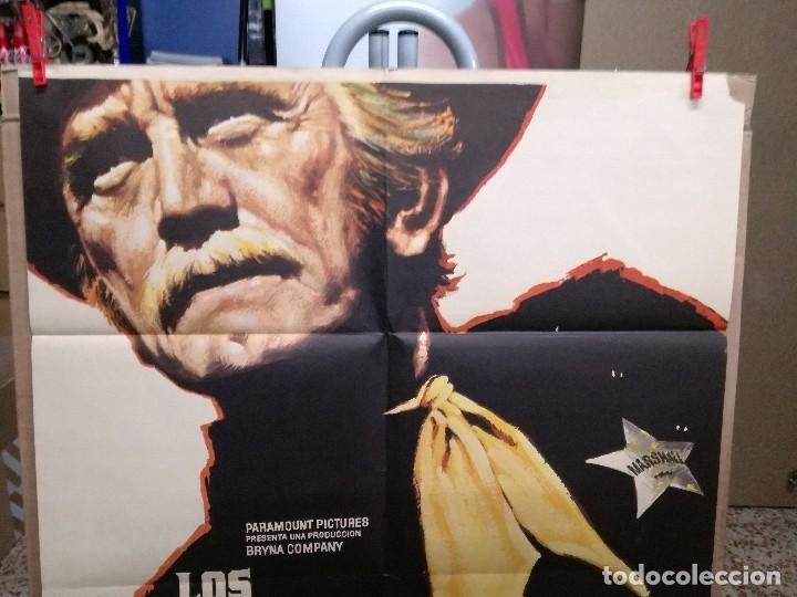 Cine: LOS JUSTICIEROS DEL OESTE. KIRK DOUGLAS, BRUCE DERN. AÑO 1975. - Foto 2 - 109284875