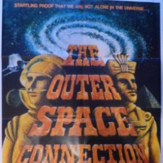 Cine: THE OUTER SPACE CONNECTION MOVIE POSTER,1975,ORIGINAL.. Lote 109285271